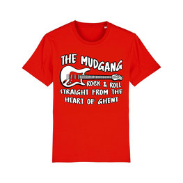 T-shirt The Mudgang Guitar Red