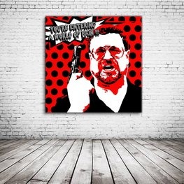 The Big Lebowski Pop Art