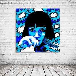 Mia Wallace Pulp Fiction Pop Art