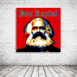 Karl Marx Das Kapital Pop Art