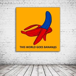 Bananas Pop Art