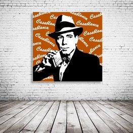Humphrey Bogart Casablanca Art