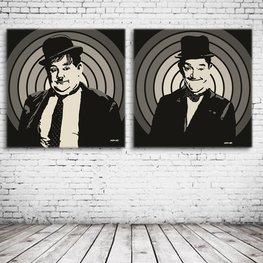 Oliver Hardy & Stan Laurel  Art