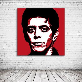 Lou Reed Pop Art