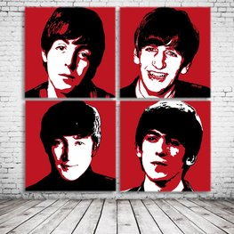 The Beatles Pop Art