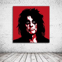 Alice Cooper Pop Art