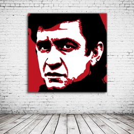 Johnny Cash Pop Art