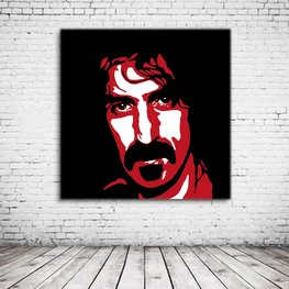 Frank Zappa Pop Art