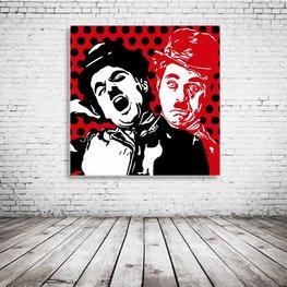 Charlie Chaplin Pop Art