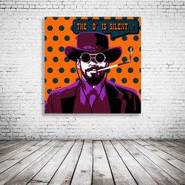 Django Unchained Pop Art