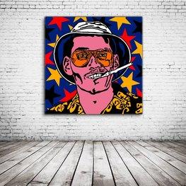 Johnny Depp Fear And Loathing In Las Vegas Pop Art