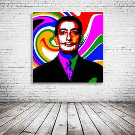Salvador Dali Pop Art