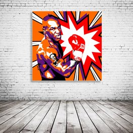 Mike Tyson Pop Art
