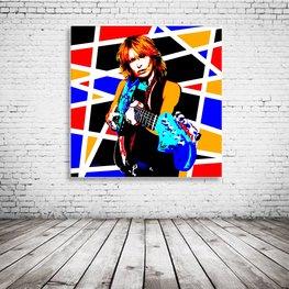 Chrissie Hynde Pop Art