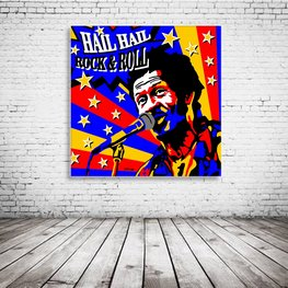 Chuck Berry Pop Art
