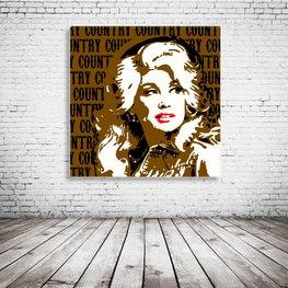 Dolly Parton Pop Art