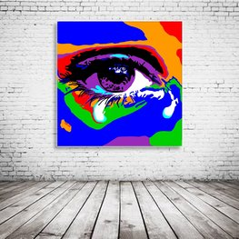The Tearing Eye Pop Art