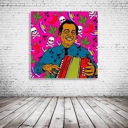 Flaco Jiminez Pop Art