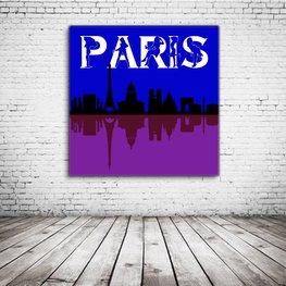 Paris Skyline Art