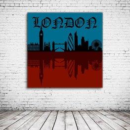 London Skyline Art