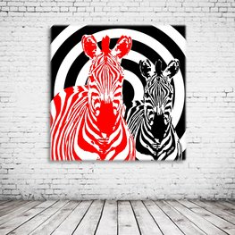 Red Zebra Art