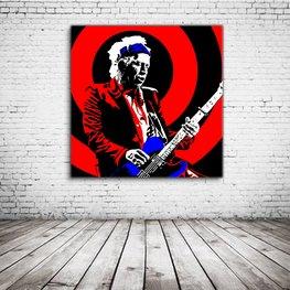 Keith Richards Pop Art