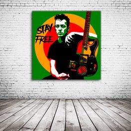 Joe Strummer Pop Art
