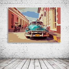 Cuba Street View Art
