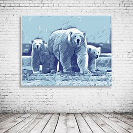 Polar Bears Art