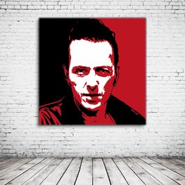 Joe Strummer Pop Art