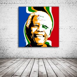 Pop Art Nelson Mandela