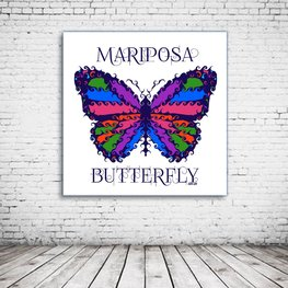Mariposa Butterfly Art