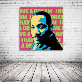 Martin Luther King Pop Art