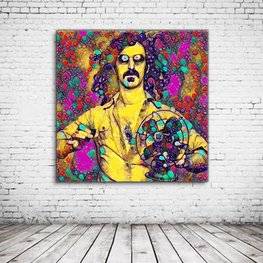 Frank Zappa Psychedelic Art