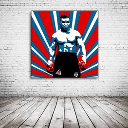 Iron Mike Tyson Pop Art