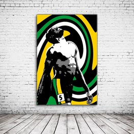 Usain Bolt Pop Art
