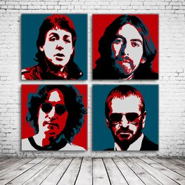 Pop Art The Beatles