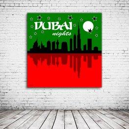 Dubai Nights Art