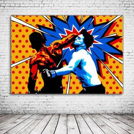 Mixed Martial Art Pop Art