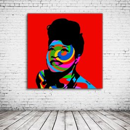 Ella Fitzgerald Pop Art