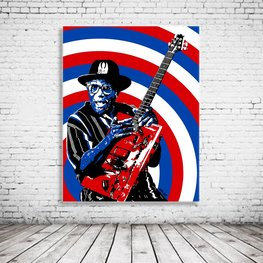 Bo Diddley Art