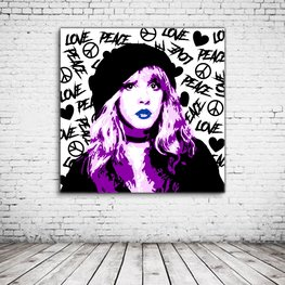 Stevie Nicks Pop Art