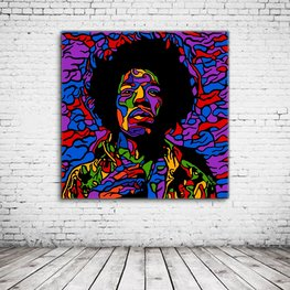 Pop Art Jimi Hendrix
