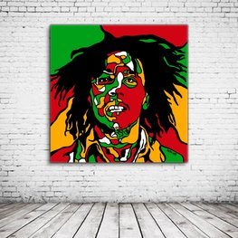 Pop Art Bob Marley