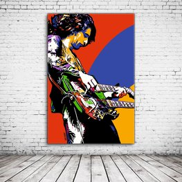 Jimmy Page Pop Art