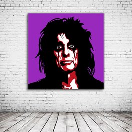 Pop Art Alice Cooper