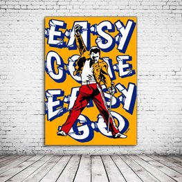 Pop Art Freddie Mercury