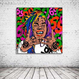 Pop Art 6ix9ine aka Tekashi69