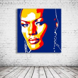 Pop Art Grace Jones