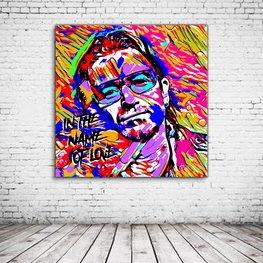 Pop Art Bono U2